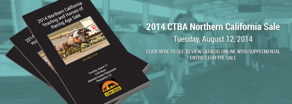 2014 CTBA Northern California Yearling & Horses of Racing Age Sale