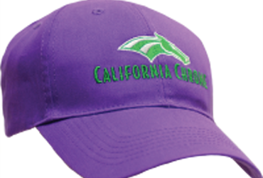 'Chrome Cap Giveaway at Santa Anita