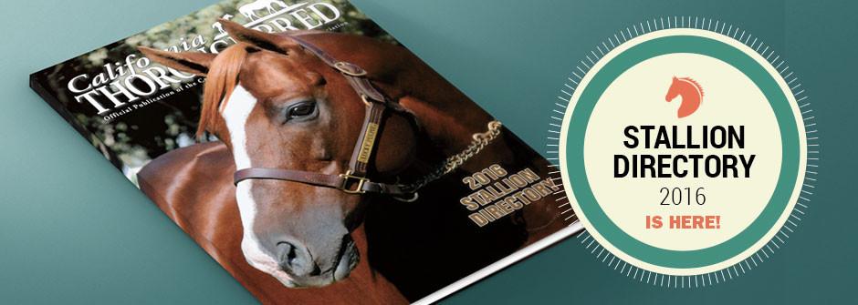 2016 Stallion Directory
