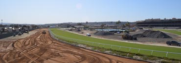 Del Mar Track Nearly Complete