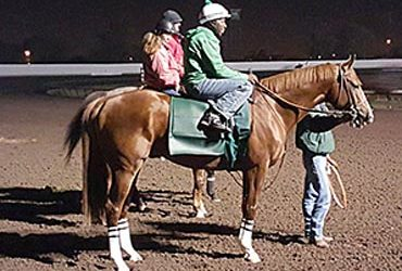 'Chrome Unfazed in Early Workout