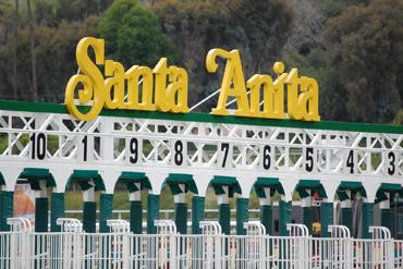 Sisters in Exacta at Santa Anita