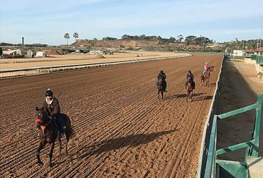 Fire Survivors Head Back to the Track