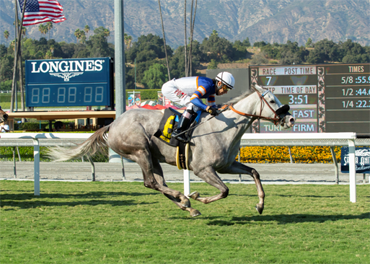 Just Grazed Me Wins California Distaff Ctba